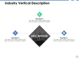 Industry Vertical Description Agenda B262 Ppt Powerpoint Presentation File Good