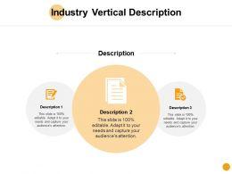 Industry Vertical Description Checklist D124 Ppt Powerpoint Presentation Ideas Visual Aids