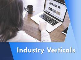 Industry Verticals Servers Ppt Powerpoint Presentation Visual Aids Portfolio