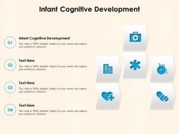 Infant Cognitive Development Ppt Powerpoint Presentation Themes