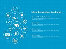 Infant Rumination Syndrome Ppt Powerpoint Presentation Slides Templates