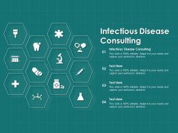 Infectious Disease Consulting Ppt Powerpoint Presentation File Rules