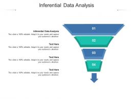 Inferential Data Analysis Ppt Powerpoint Presentation Ideas Deck Cpb