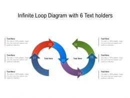 Infinite Loop Diagram With 6 Text Holders