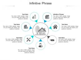 Infinitive Phrase Ppt Powerpoint Presentation Diagram Graph Charts Cpb