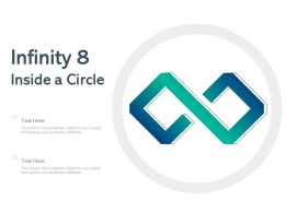 Infinity 8 Inside A Circle