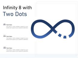 Infinity 8 With Two Dots