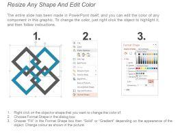 43698584 Style Circular Zig-Zag 2 Piece Powerpoint Presentation Diagram Infographic Slide