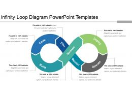 Infinity Loop Diagram Powerpoint Templates