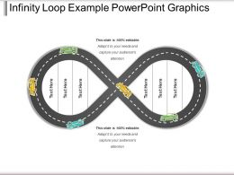 Infinity Loop Example Powerpoint Graphics