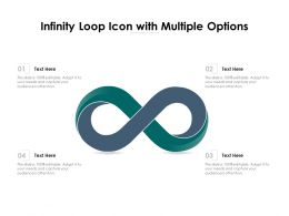 Infinity Loop Icon With Multiple Options
