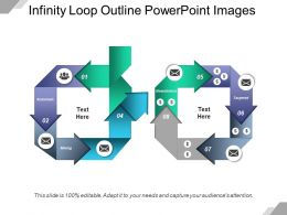 Infinity Loop Outline Powerpoint Images