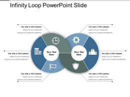 Infinity Loop Powerpoint Slide