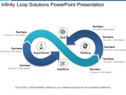 Infinity Loop Solutions Powerpoint Presentation