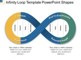Infinity Loop Template Powerpoint Shapes