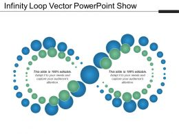 Infinity Loop Vector Powerpoint Show