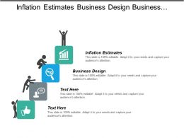 Inflation Estimates Business Design Business Solutions January Key Changes Cpb