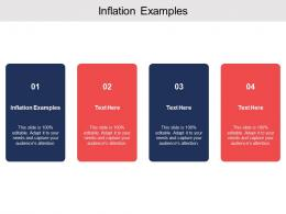 Inflation Examples Ppt Powerpoint Presentation Summary Template Cpb