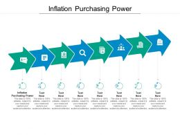 Inflation Purchasing Power Ppt Powerpoint Presentation Ideas Styles Cpb