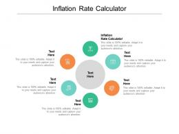 Inflation Rate Calculator Ppt Powerpoint Presentation Inspiration Smartart Cpb