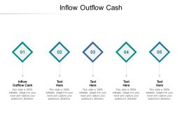 Inflow Outflow Cash Ppt Powerpoint Presentation Model Example Topics Cpb