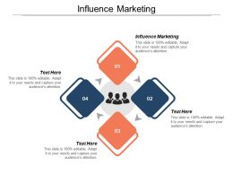 Influence Marketing Ppt Powerpoint Presentation File Samples Cpb
