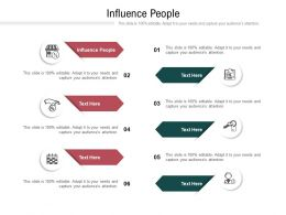 Influence People Ppt Powerpoint Presentation Slides Summary Cpb
