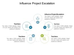 Influence Project Escalation Ppt Powerpoint Presentation Infographics Outfit Cpb