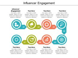 Influencer Engagement Ppt Powerpoint Presentation Influencers Cpb