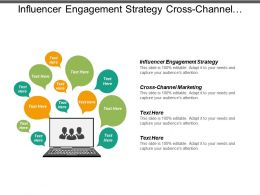 Influencer Engagement Strategy Cross Channel Marketing Cross Channel Advertising Cpb