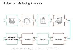 Influencer Marketing Analytics Ppt Powerpoint Presentation File Mockup Cpb