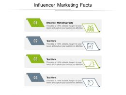 Influencer Marketing Facts Ppt Powerpoint Presentation Professional Visuals Cpb