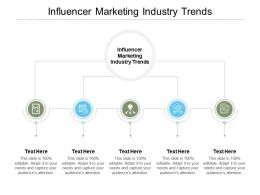 Influencer Marketing Industry Trends Ppt Powerpoint Presentation Layouts Background Image Cpb