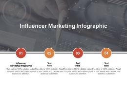 Influencer Marketing Infographic Ppt Powerpoint Presentation Tips Cpb