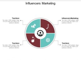 Influencers Marketing Ppt Powerpoint Presentation File Infographic Template Cpb