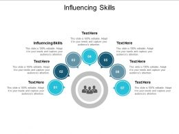 Influencing Skills Ppt Powerpoint Presentation Infographic Template Format Cpb