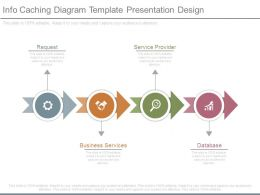 Info Caching Diagram Template Presentation Design