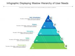 Infographic Displaying Maslow Hierarchy Of User Needs