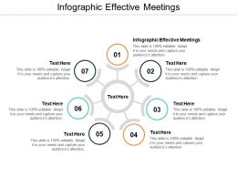 Infographic Effective Meetings Ppt Powerpoint Presentation Gallery Themes Cpb