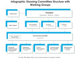 Infographic Showing Committee Structure With Working Groups
