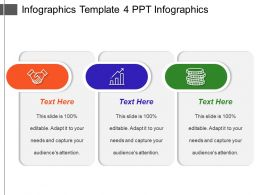 Infographics Template 4 Ppt Infographics