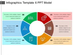 Infographics Template 6 Ppt Model