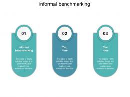 Informal Benchmarking Ppt Powerpoint Presentation Ideas Cpb