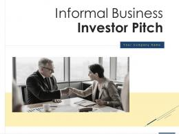 Informal Business Investor Pitch PPT Template