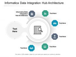 Informatica Data Integration Hub Architecture Ppt Powerpoint Presentation Portfolio Layout Ideas Cpb
