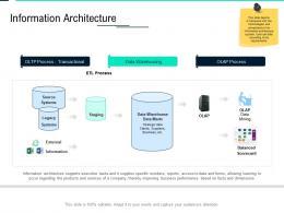 Information Architecture Data Integration Ppt Powerpoint Presentation Styles Elements