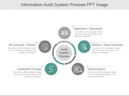 Information Audit System Process Ppt Image