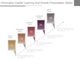 Information Capital Learning And Growth Presentation Slides