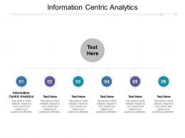 Information Centric Analytics Ppt Powerpoint Presentation Styles Show Cpb