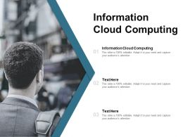 Information Cloud Computing Ppt Powerpoint Presentation Ideas Files Cpb
